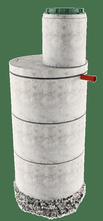 Септик из бетонных колец в Самарской области