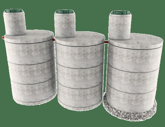 Трехкамерная конструкция септика в Самарской области